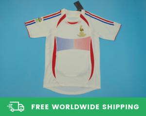 France-2006-World-Cup-Away-Jersey-Maillot-Shirt-Zidane-Henry-Vieira-Sizes-S-XXL