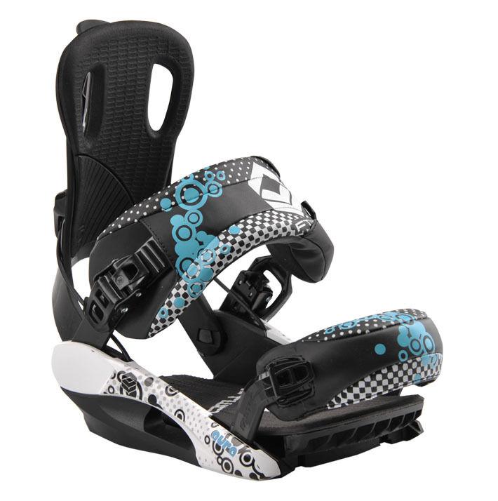 FTWO Fastec Bloom Größe S für Stiefel Stiefel Stiefel 34 - 39 Step-In F2 Snowboard Bindung  | Gemäßigten Kosten  0f5811