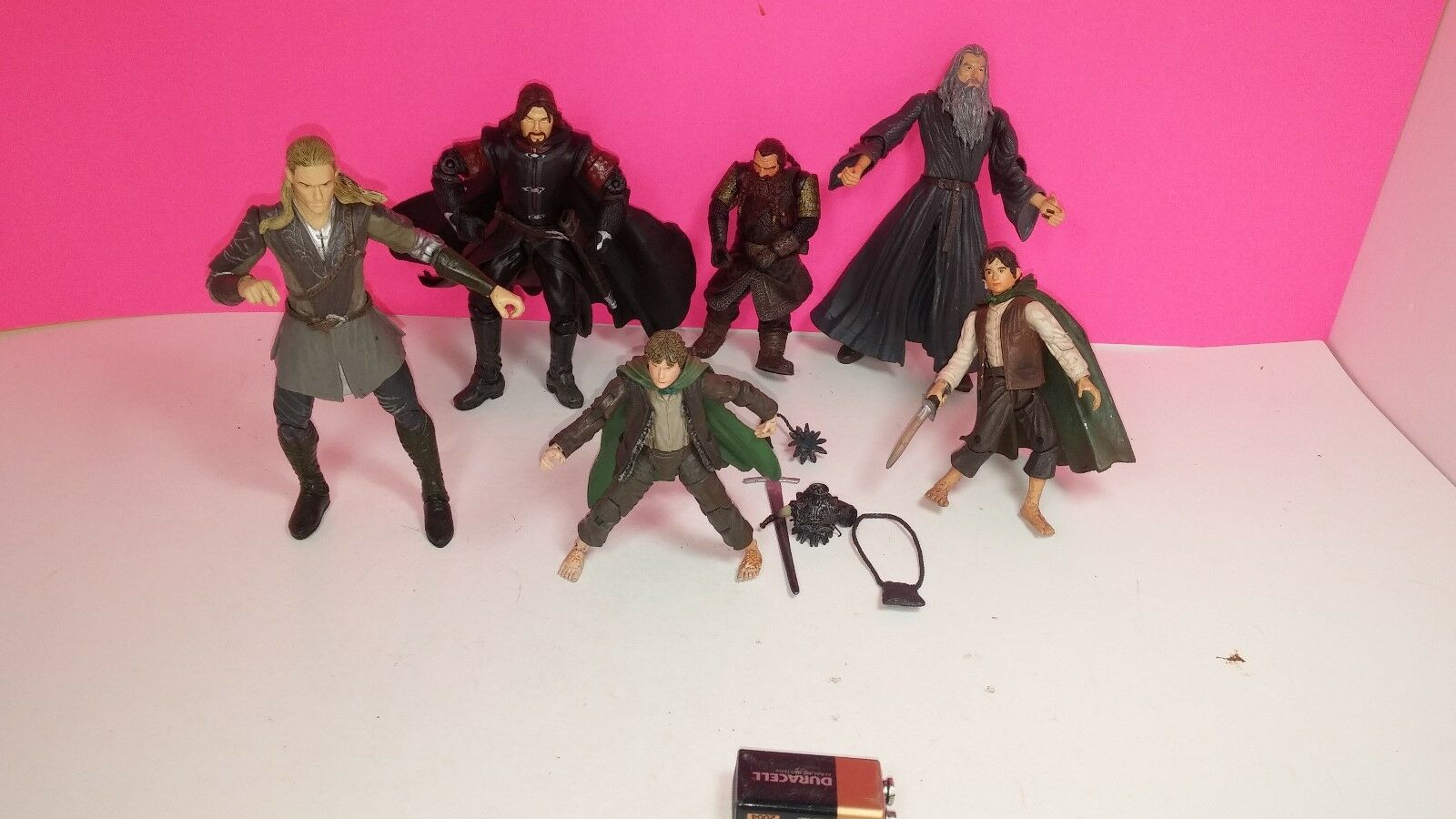 Marvel Lord of of of The Rings Action Figure Lot Hobbit 7983d8