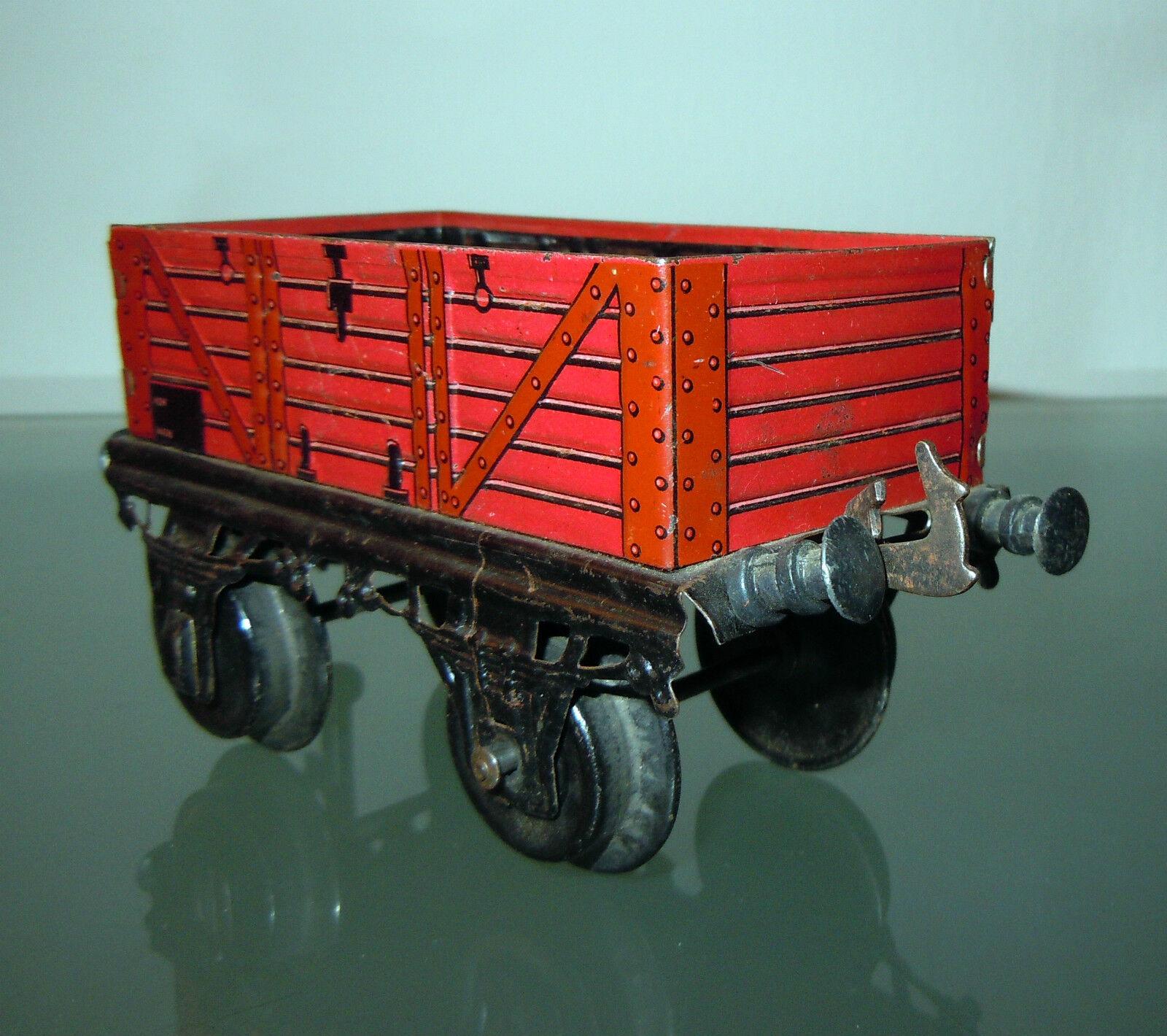 BING Werke AG carro Baviera en lata - tin juguete VINTAGE