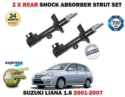 FOR SUZUKI LIANA 1.3 1.4 1.6 DDiS 2001--/>ON 2X REAR LEFT RIGHT SHOCK ABSORBER