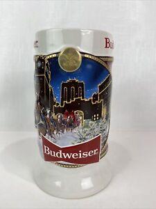 Budweiser 2020 Limited Ed Clydesdale Holiday Stein Mug 41st Anniversary New NIB