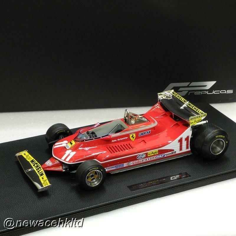 Ferrari 312 T4 Jody scheckter copia del GP de cola corta 1   12, 35, y gp12 - 01c.