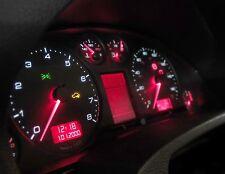 "Gauged 98-01 Audi B5 A4 ""RS"" v1 Gauge Face Dial Kit for Cluster MPH Deg F"
