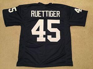 UNSIGNED-CUSTOM-Sewn-Stitched-Rudy-Ruettiger-Blue-Jersey-M-L-XL-2XL