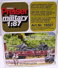 Preiser Military HO (1/87) #16527 WW2 German Light Field Howitzer
