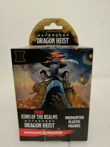 Dungeons /& Dragons Icons of the Realm Waterdeep Dragon Heist Pre-painted Figures