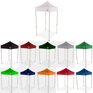 super popular 42dd9 e37d2 Details about 5X5 EZ Pop Up Canopy Tent Sun Shade Vendor Display Booth  Shelter Market Canopy