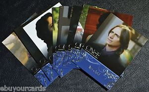 Disney-Once-Upon-a-Time-Character-Bios-Insert-Chase-9-Set-C1-C9-Trading-Cards
