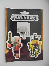 MINE CRAFT MOB NETHER SCRAP BOOKING STICKERS