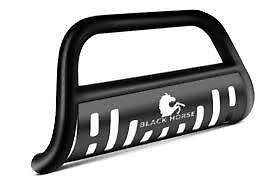 Fits 05-2015 Nissan Armada Black Bull Bar Bumper Guard Black Horse BB113205A-SP