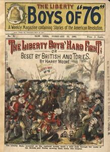 Liberty-Boys-Of-039-76-94-Issues-Dime-Novel-Magazine-Collection