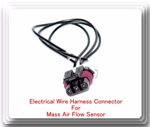Pigtail Wire Connector for Mass Air Flow MAS0201 Sensor For Acura Buick Cadillac
