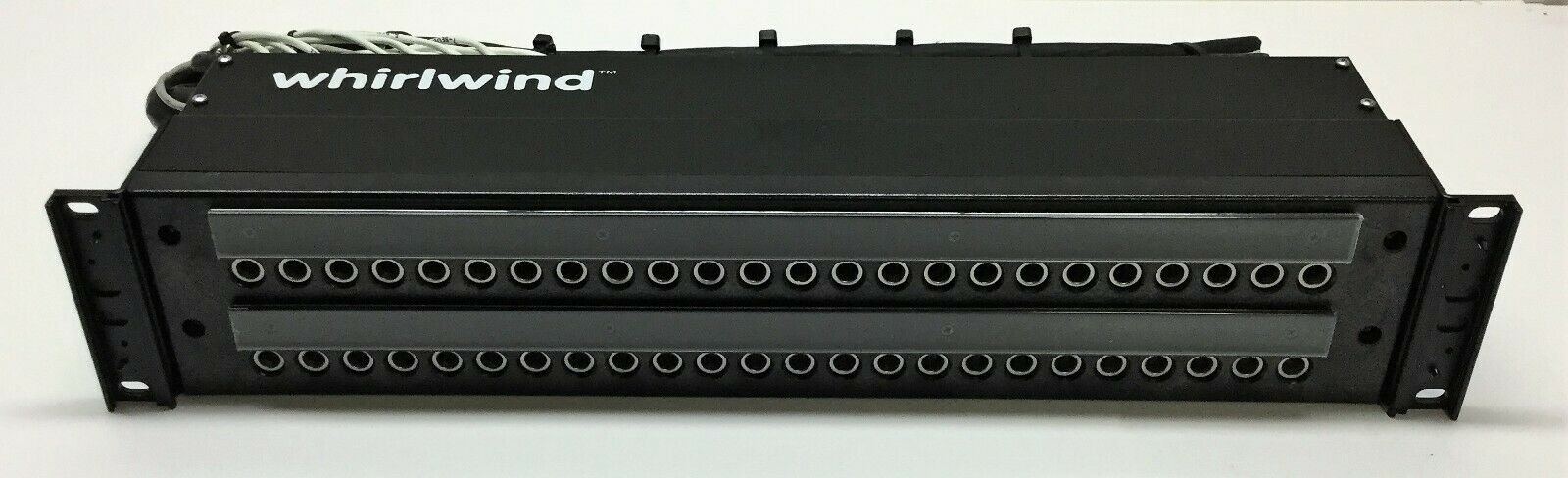 Very Nice 48 point Whirlwind Patch Bay-Rack Mountable