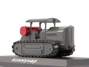 Kommunar-First-Soviet-Caterpillar-Tractor-USSR-1924-Year-1-43-Scale-HACHETTE