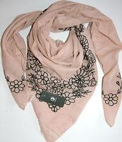 FRAAS Acc.Scarf Schal Tuch Blütenapplikation Perlen Tearose  one size Neu