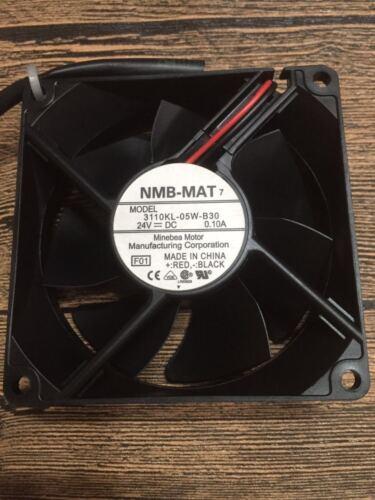 1pcs NMB-MAT 3110KL-05W-B30 8cm 8025 24V 0.10A Cooling Fan