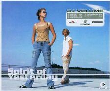 DJ Volume Spirit of yesterday (2003) [Maxi-CD]