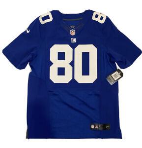 Victor Cruz New York Giants NIKE Elite Authentic Home Jersey Size ...