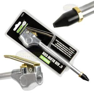 6-034-Air-Blow-Gun-Rubber-Tip-1-4-034-NPT-Inlet-GRIP-10581-Blowgun-Tool