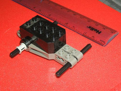 essieux couleur peut varier Lego technic noir ou gris non électrique Tirez moteur