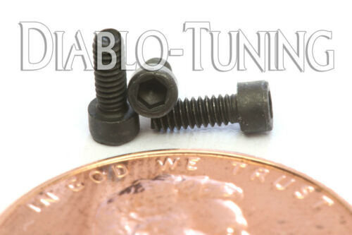 "Socket Head Cap Screws SAE Qty 10 #0-80 x 3//16/"" Alloy Steel Black Oxide"