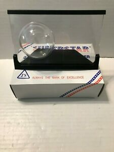 NEW-Lot-of-5-J-039-s-Superstar-Acrylic-Baseball-and-Card-Holder-Black-Frame
