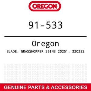 Oregon 91-533 Hi-Lift Blade Bush Hog Grass Hopper ATH 720 480 Rotary 9-PACK