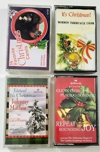 Christmas Music Cassette Lot (SEE DESCRIPTION FOR TITLES)