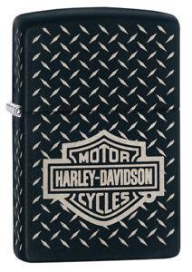 Zippo Feuerzeug Harley Davidson Katalog 2018 Diamond Plate ...