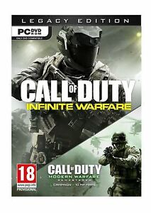 Call-of-Duty-GUERRA-INFINITA-LEGACY-EDITION-PC-UK-STOCK-1st-Class-consegna