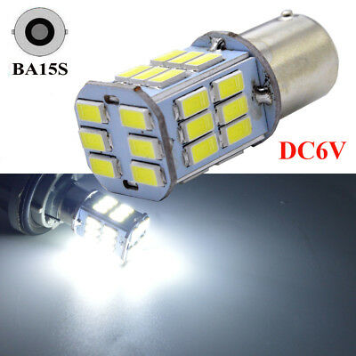 LED Car 2x White Bulb BA15S P21W 1156 Backup Reverse Light 33-SMD 5730 New UK