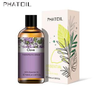 100ml-Clous-de-girofle-100-huiles-essentielles-d-039-aromatherapie-pure-biologiques