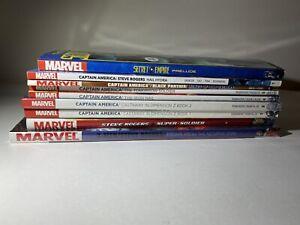 Marvel-TPB-Hardcover-Graphic-Novel-Lot-Of-9-Captain-America-Secret-Empire-Rogers