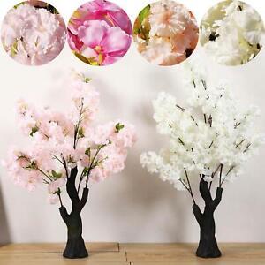 Premium Fluffy Cherry Blossom Tree Artificial Flowers Wedding Home Ebay