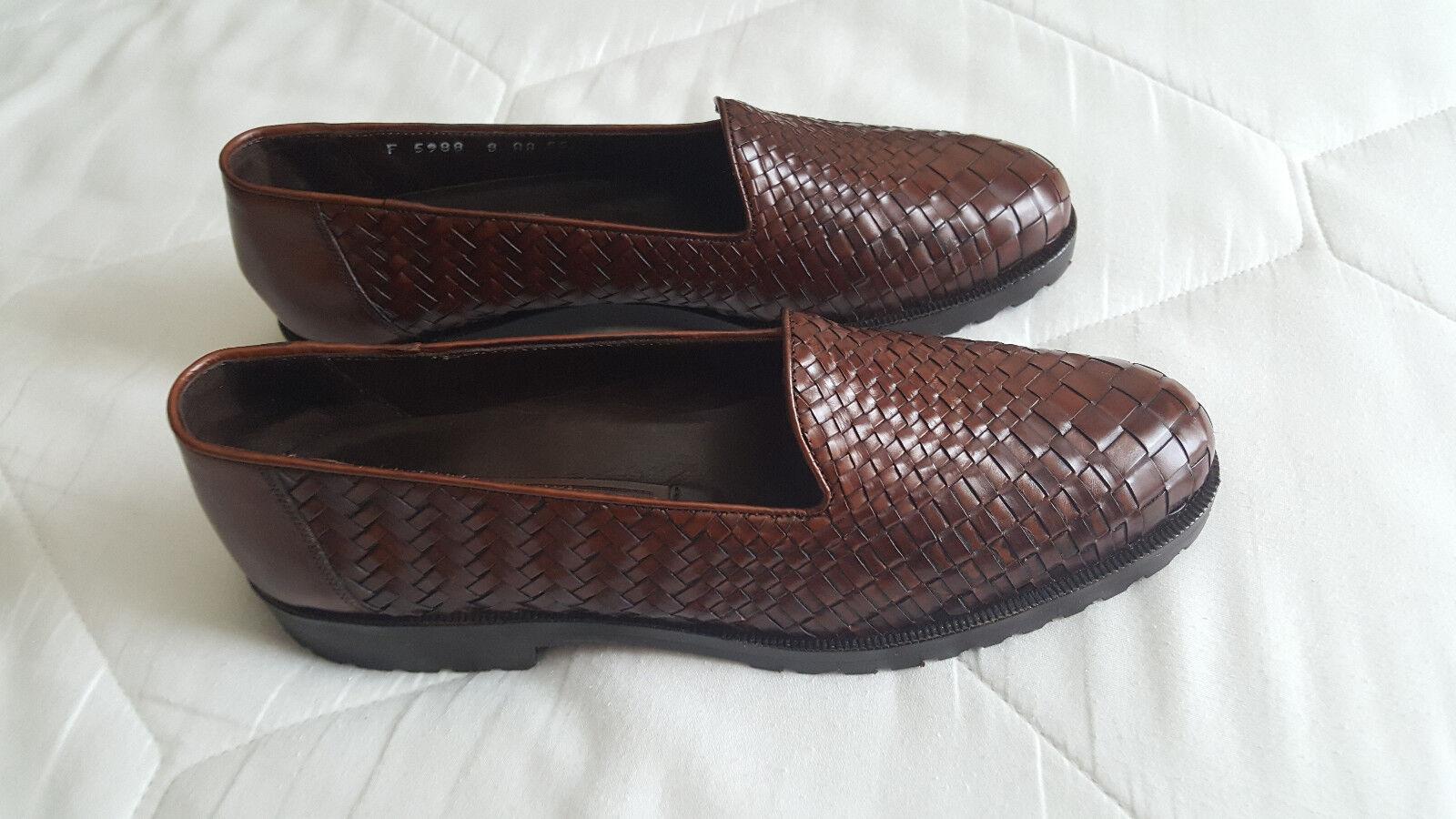nelle promozioni dello stadio Cole Haan donna Loafers Leather Woven Woven Woven  Dimensione 8 AA  Style F5988  liquidazione fino al 70%