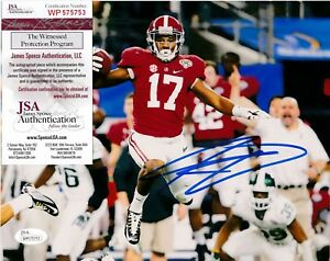 quality design c4ace aac00 Details about KENYAN DRAKE ALABAMA CRIMSON TIDE JSA AUTHENTICATED ACTION  SIGNED 8x10