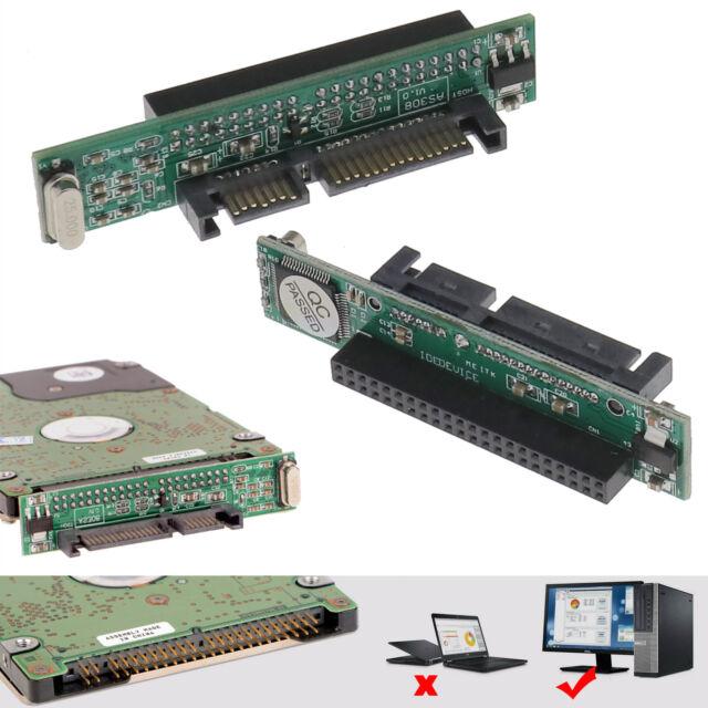 IDE Laptop Hard to SATA Adapter converter 2.5 SATA Female to IDE male 44 pin