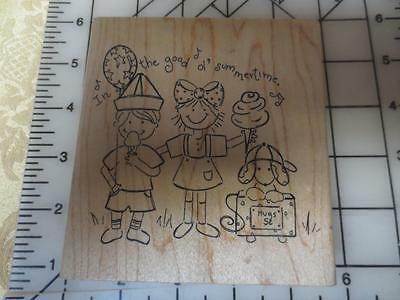 Zachary Name Rubber Stamp for Kids