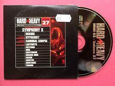 HARD N HEAVY CD Sampler Vol.27 - Symphony X, Deicide, Nasum etc - 13 Track Promo