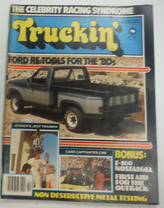 Truckin' Magazine Ford Re-Tools For The '80s Jenner's Jeep October 1979 050215R