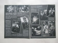 Thin Lizzy Lynott Gary Moore Gorham Quatro Streisand clippings Holland Dutch 70s
