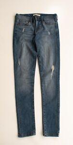 Banana-Republic-Skinny-Fit-Distressed-Denim-Jeans-Size-26