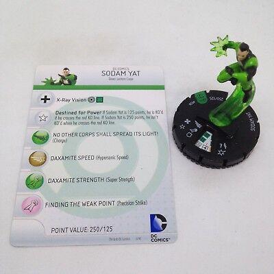 DC Heroclix War of Light Sodam Yat Uncommon 026