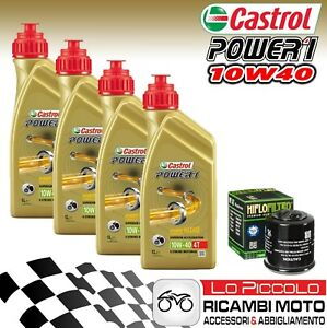 KIT-TAGLIANDO-4-LT-OLIO-CASTROL-POWER-1-10W40-FILTRO-MV-Agusta-Brutale-675-2012