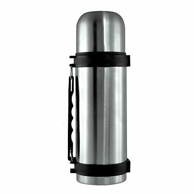 1ltr Stainless Steel Vacuum Flask With Built In Carry Handle 1 Litre Flask Prima