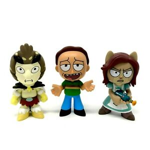 Funko Mystery Minis Rick And Morty Series 1 Birdperson Jerry & Arthricia Figures