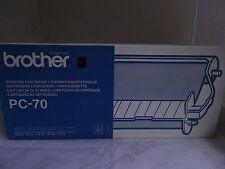 Brother PC-70 Kassette mit Thermotransferrolle  für Fax T72  T74 T76 T78 T82 T84