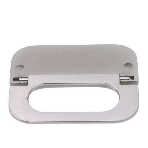 Vintage Hidden Knob Drawer Handle Modern Hardware Accessories Invisible Grip SU