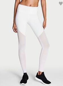 894887886d397 Victoria's Secret Sport Knock out Tight legging yoga pants white ...